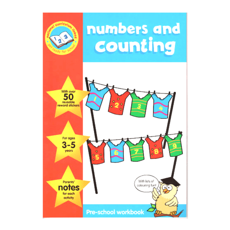Numbers & Counting Pre-School Workbook