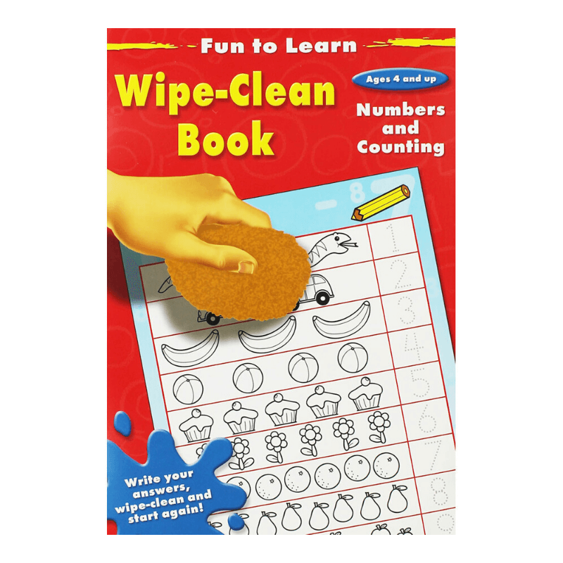 Numbers & Counting Wipe-Clean Book