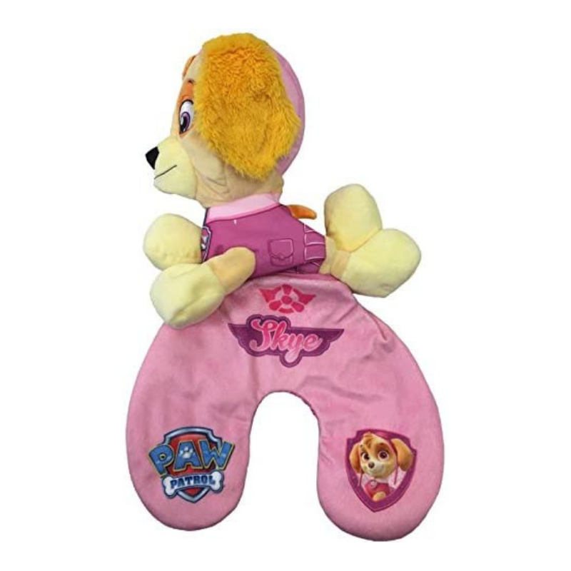 Paw Patrol Skye Reversible Travel Pillow & Plush Toy