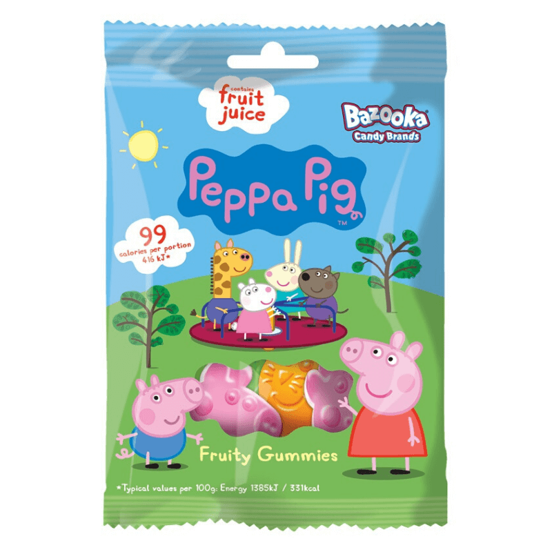 PEPPA PIG FRUITY GUMMIES SWEETS | Cheap Toys | PoundToy