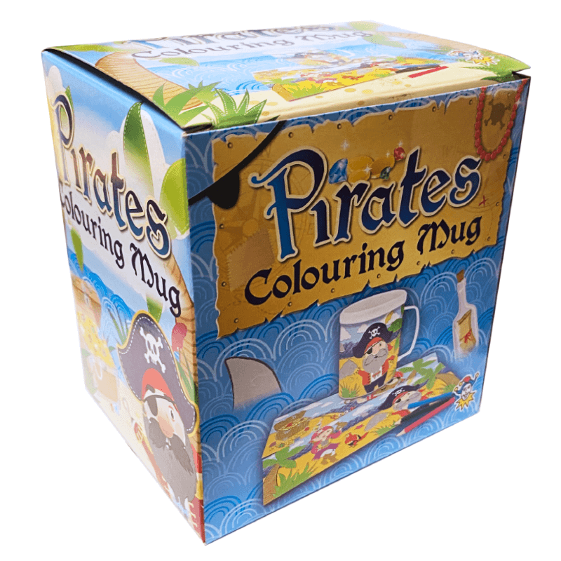 Pirates Colouring Mug