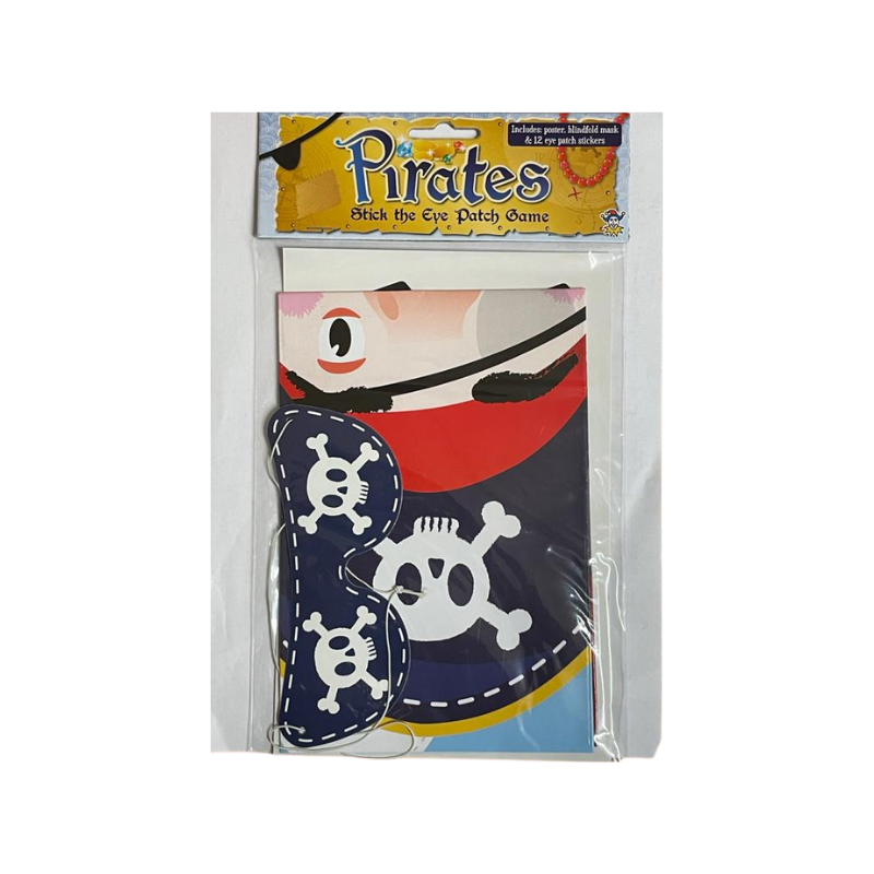 PIRATES STICK THE EYE PATCH GAME