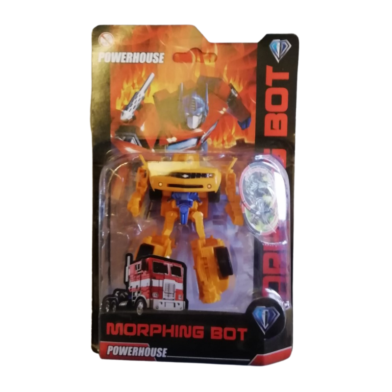 POWERHOUSE MORPHING BOT - TRANSFORMABLE FIGURE