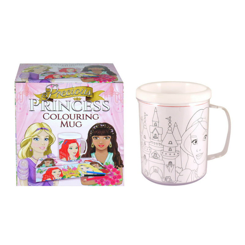 PRECIOUS PRINCESS COLOURING MUG | Cheap Toys | PoundToy