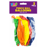 PUNCH BALL BALLOONS - 5 PACK | Cheap Toys | PoundToy
