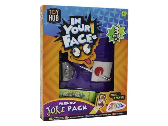 IN YOUR FACE FRIENDLY JOKE PACK | Cheap Toys | PoundToy