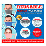 REUSEABLE STRETCHABLE SPANDEX FASHION FACE MASK