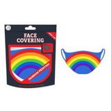 ADULTS FACE PROTECTOR MASK - RAINBOW SML/MED