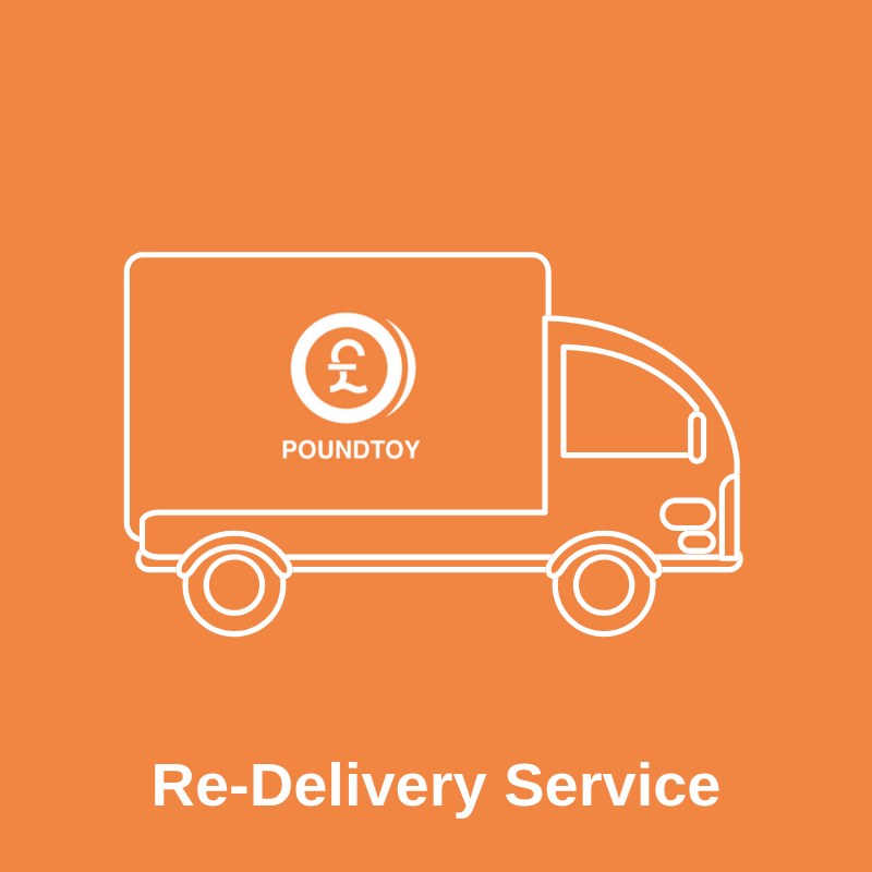 Re-Delivery Service | Cheap Toys | PoundToy