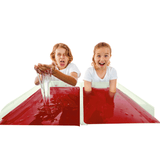 RED SLIME PLAY - MAKE YOUR OWN SLIME