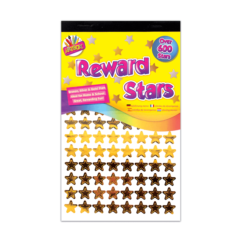 Reward Stars 600+ Stickers