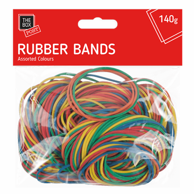 RUBBER ELASTIC BANDS - 140G | Cheap Toys | PoundToy