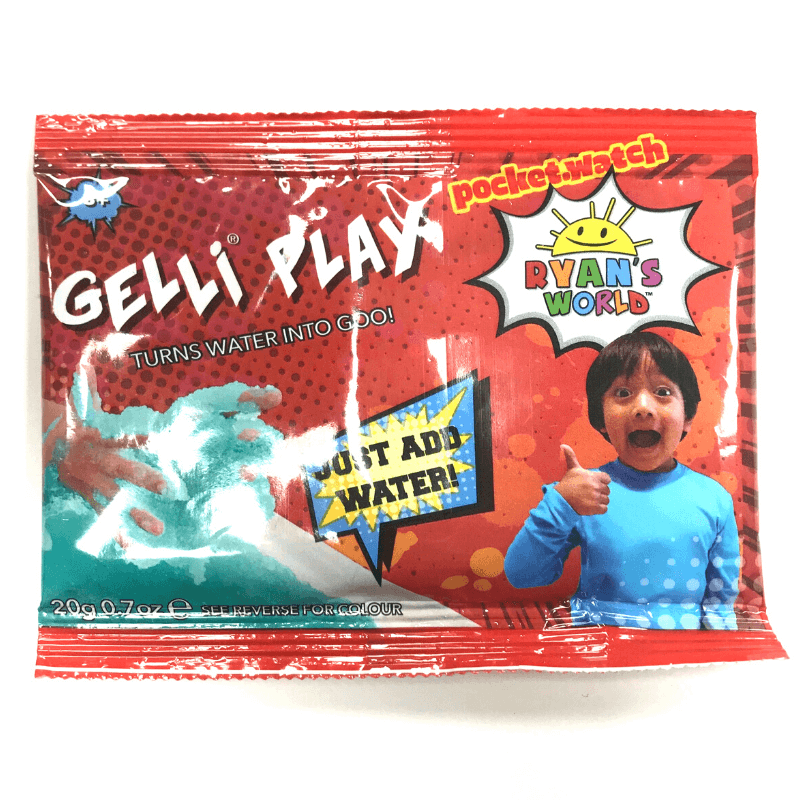 RYAN'S WORLD GELLI PLAY SACHET | Cheap Toys | PoundToy