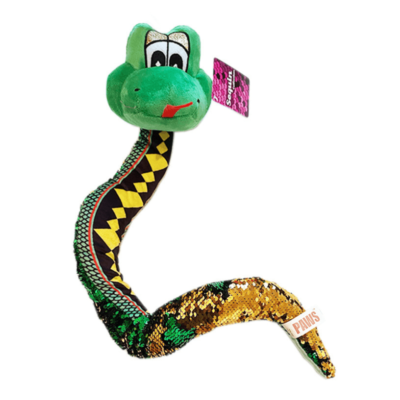 Sequin Snake Soft Toy 66cm