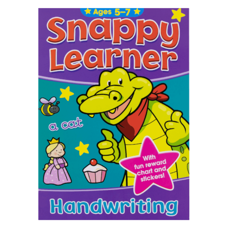 SNAPPY LEARNER HANDWRITING ACTIVITY BOOK AGE 5-7