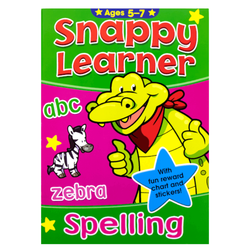SNAPPY LEARNER SPELLING ACTIVITY BOOK AGE 5-7