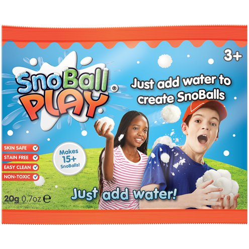 SNOBALL PLAY SACHET | Cheap Toys | PoundToy