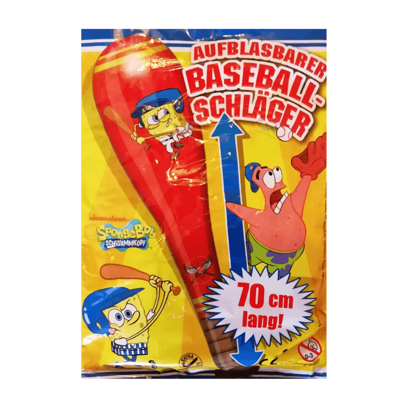 Sponegbob Squarepants Inflatable Baseball Bat