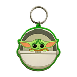 Star Wars The Mandalorian Baby Yoda Pod Keyring