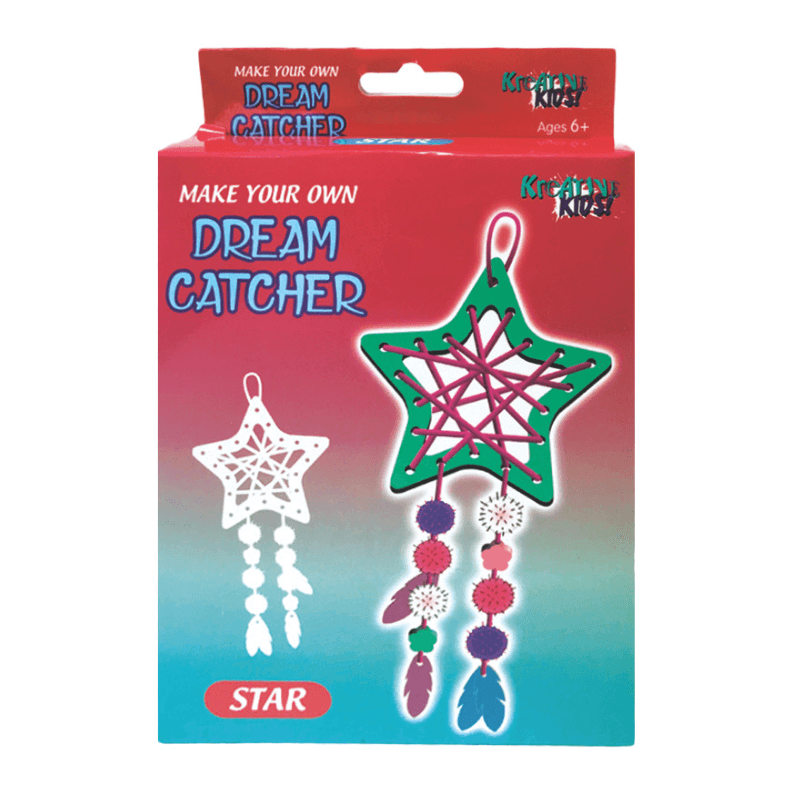 MAKE YOUR OWN STAR DREAM CATCHER | Cheap Toys | PoundToy