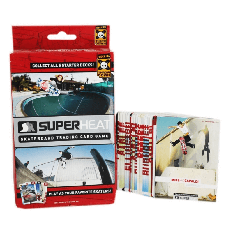 Superheat Skateboard Trading Game