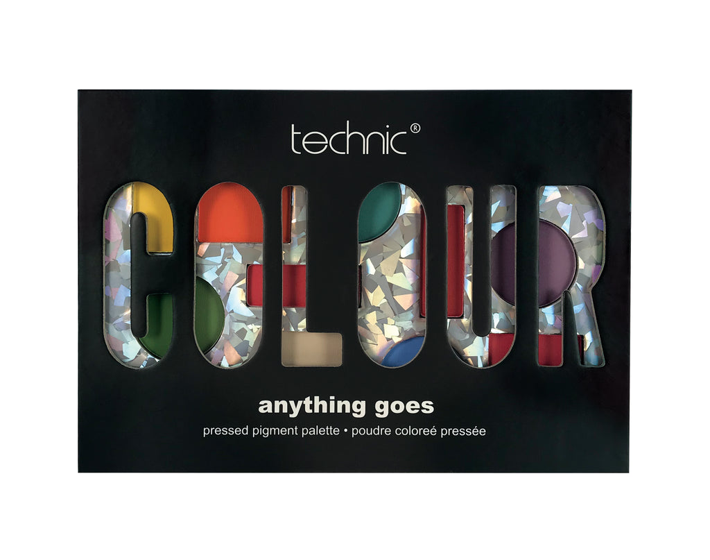 TECHNIC COLOUR EYESHADOW PALETTE box