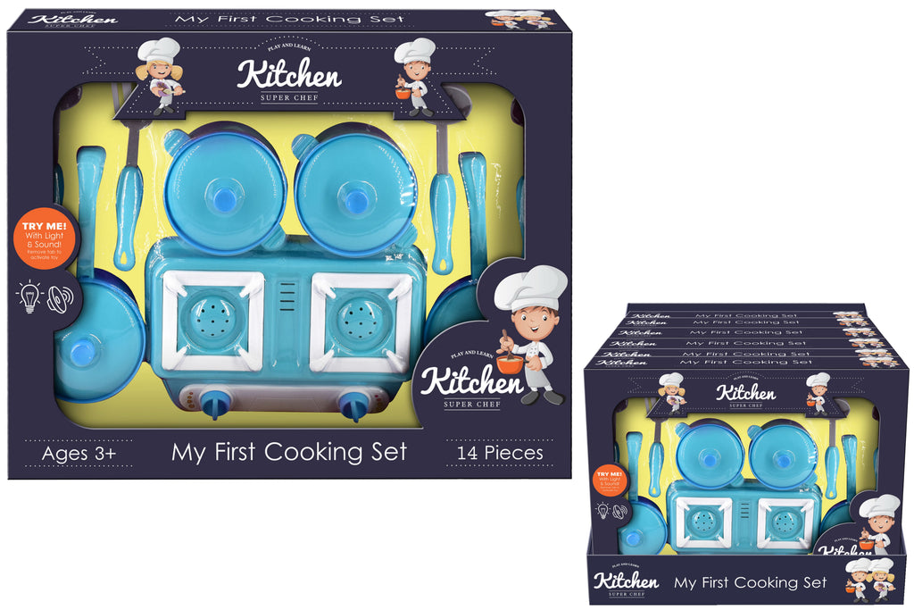 MY FIRST COOKING SET KITCHEN SUPER CHEF