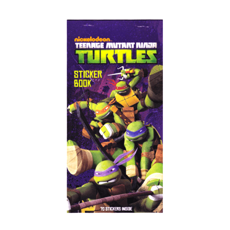TEENAGE MUTANT NINJA TURTLES STICKER BOOK