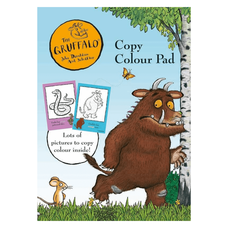 The Gruffalo Copy Colouring Book