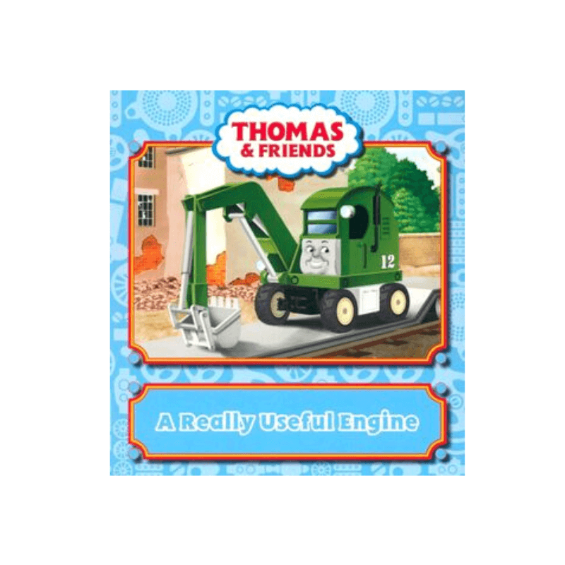 THOMAS & FRIENDS A REALLY USEFUL ENGINE STORY BOOK