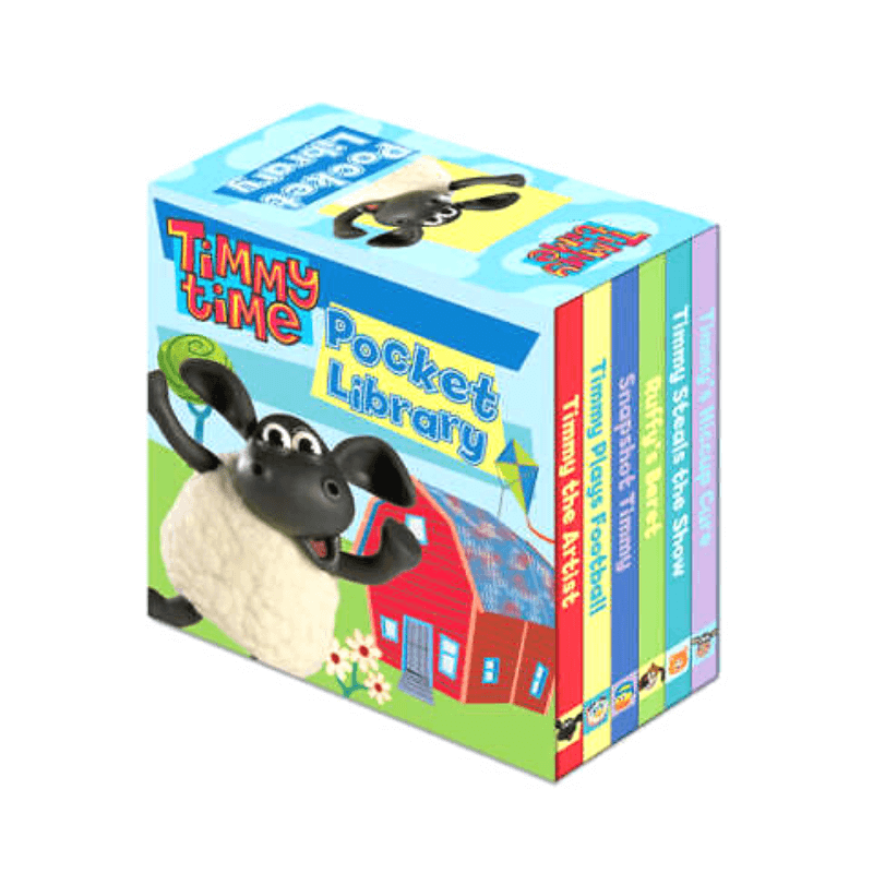 TIMMY TIME 6 BOOK POCKET LIBRARY