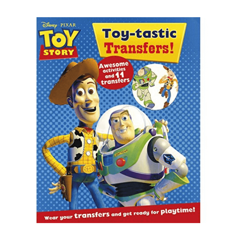Toy Story Toy-Tastic Transfers Activity Book