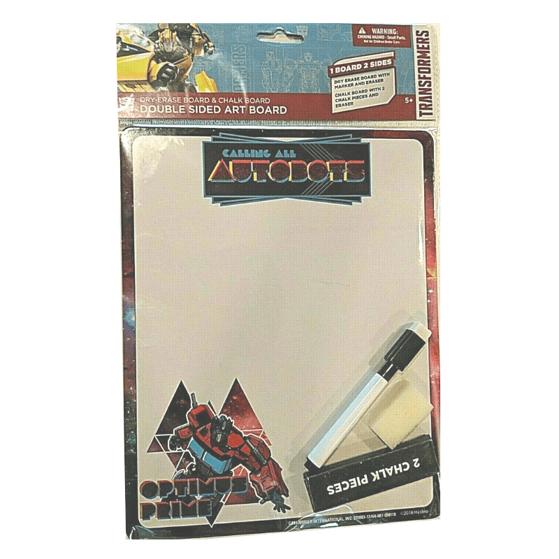 Transformers Double Sided Art Board