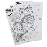 Trolls World Tour Painting Sheets