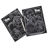 Trolls World Tour Scratch Art Set