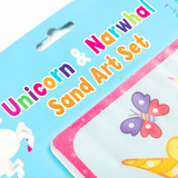 Unicorn and Narwhal Sand Art Set