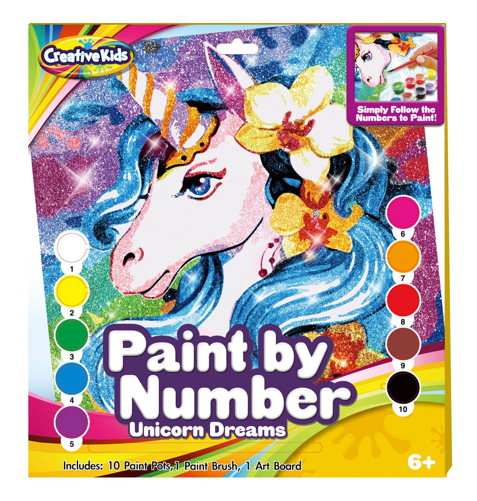 Unicorn Paint By Numbers