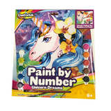 CREATIVE KIDS UNICORN DREAMS PAINT BY NUMBERS