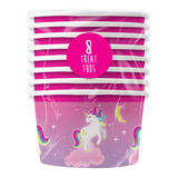 UNICORN PARTY TUBS PACK OF 8 | Cheap Toys | PoundToy