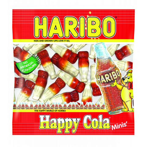 HARIBO HAPPY COLA MINI-BAGS | Cheap Toys | PoundToy