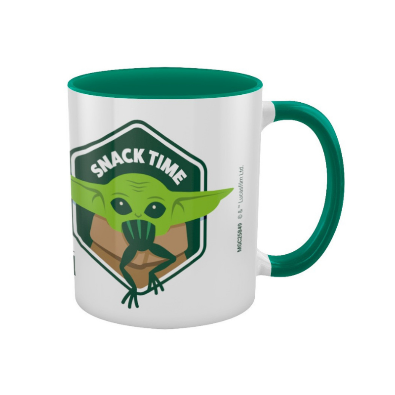 STAR WARS THE MANDALORIAN SNACK TIME MUG