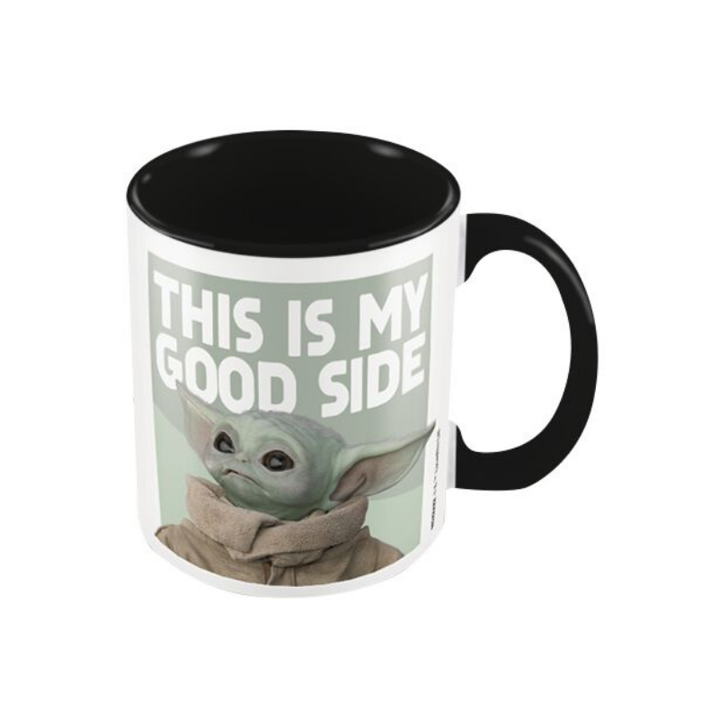 STAR WARS THE MANDALORIAN THIS IS MY GOOD SIDE MUG