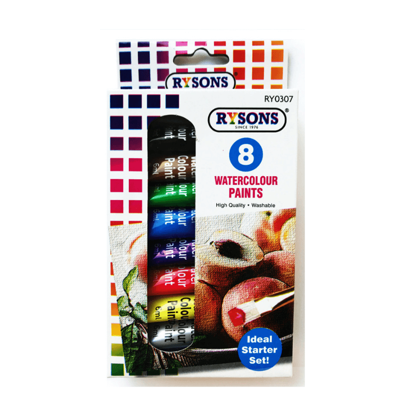 8 WATERCOLOUR PAINTS | Cheap Toys | PoundToy