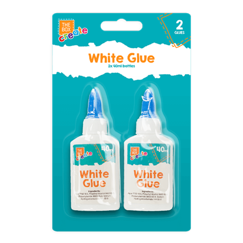 WHITE GLUE PACK OF 2 | Cheap Toys | PoundToy