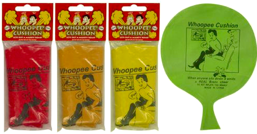 FUNNY WHOOPEE CUSHION | Cheap Toys | PoundToy