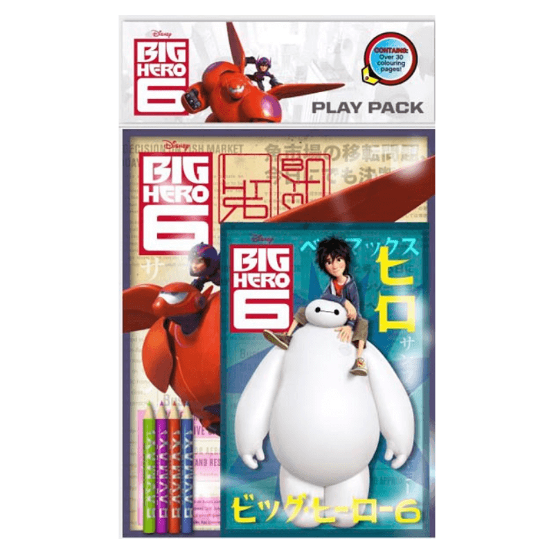 BIG HERO 6 PLAY PACK | Cheap Toys | PoundToy