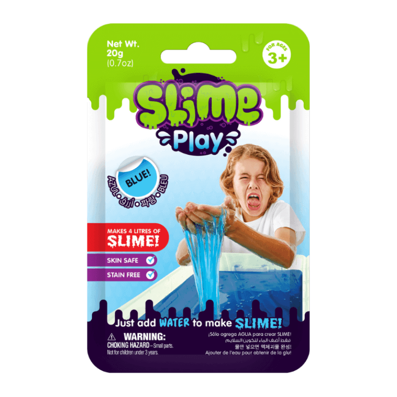 BLUE SLIME PLAY - MAKE YOUR OWN SLIME