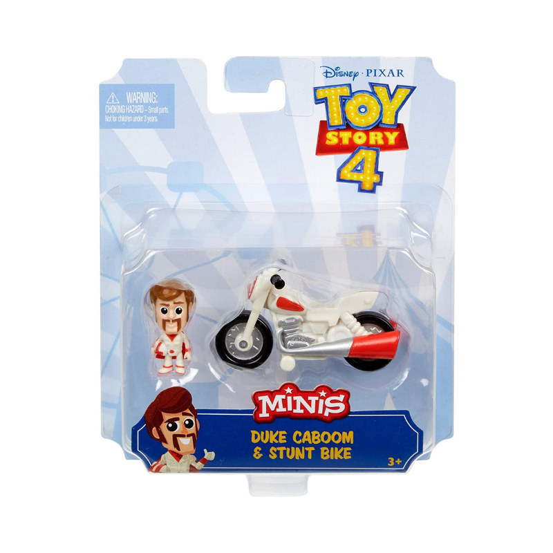 TOY STORY 4 MINI DUKE CABOOM & STUNT BIKE