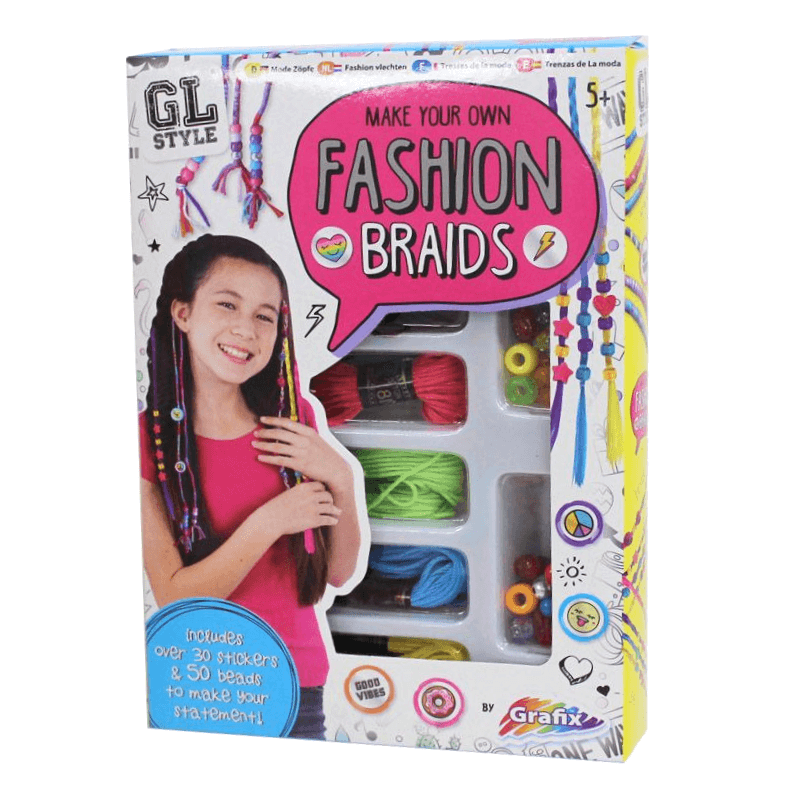 GRAFIX MAKE YOUR OWN FASHION BRAIDS | Cheap Toys | PoundToy