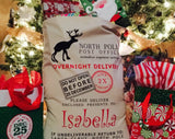 HESSIAN OVERNIGHT DELIVERY CHRISTMAS PRESENT SACK | Cheap Toys | PoundToy